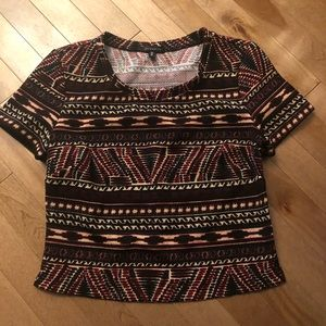 | 2 for 15$ | Dynamite Aztec Crop top
